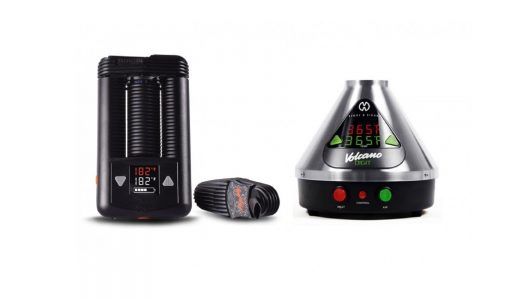 Mighty Vaporizer VS Volcano